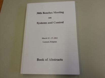30th Benelux meeting, Belgium, 2011.