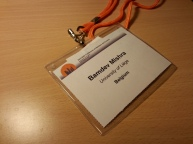 IEEE CDC 2014 badge, Los Angeles, California, USA.
