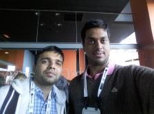 With Pratik at NIPS 2016.