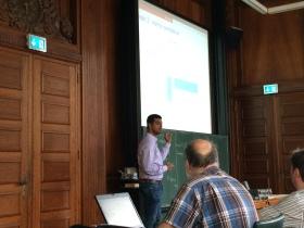 At low-rank and tensor workshop, Bonn, Germany, 2015. Courtesy of Hiroyuki Kasai.