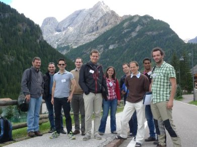 Low-rank optimization workshop at the Dolomites, Italy, 2013.