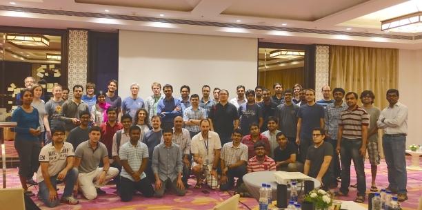 Amazon Goa ML conference, 2015.