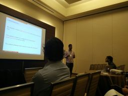 Presenting the work on Scaled SGD at IEEE CDC, 2016
