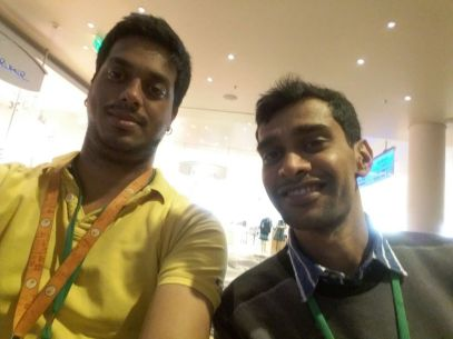 Catching up with Khem at IEEE CDC, 2016