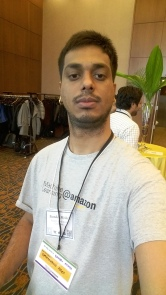 At Amazon luncheon, which was organized at NIPS 2015, Montreal, Canada.