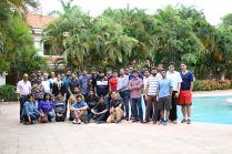 Team outing at Amazon, Bangalore 2017