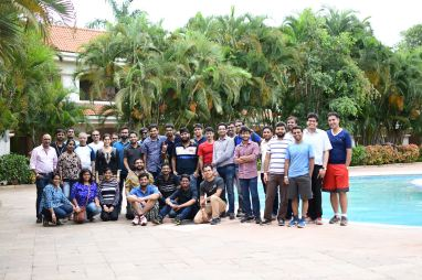 Team outing at Amazon, Bangalore 2017