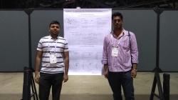 With Pratik Jawanpuria at NIPS 2017 presenting our work at OptML workshop.