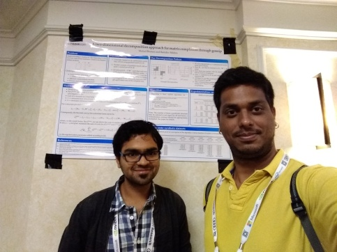 With Mukul Bhutani at NIPS 2018