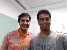 With Atul Saroop at Amazon.