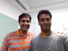 With Atul Saroop at Amazon.