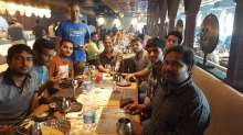 With Pure and team during our group lunch